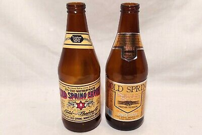 2 Vintage Cold Spring Export & Select Stock Beer Bottles Cold Spring MN