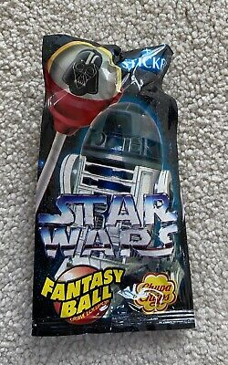 Star Wars Chupa Chups Lolly Unopened/Sealed From 1996