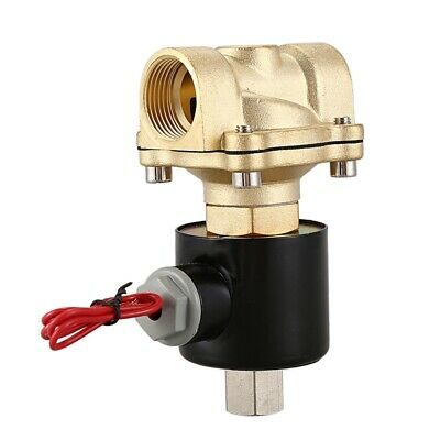 3/4inch DN20 Normally Open N/O Brass Electric Solenoid Valve 220V Pneumatic P3U4