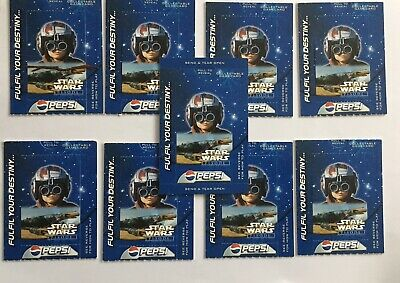 Star Wars - Episode I - Phantom Menace 9 Pepsi Game Cards From 1999 Rare