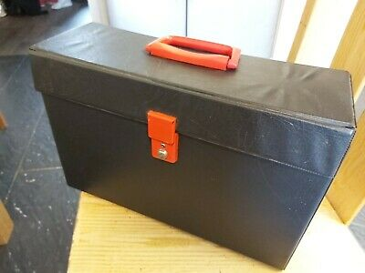 Retro Vintage 12'' Vinyl Record Case