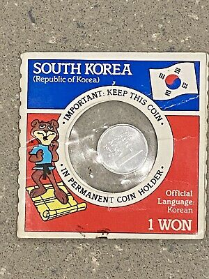 South Korea 1 Won 1970 Bank of South Korea Unique item