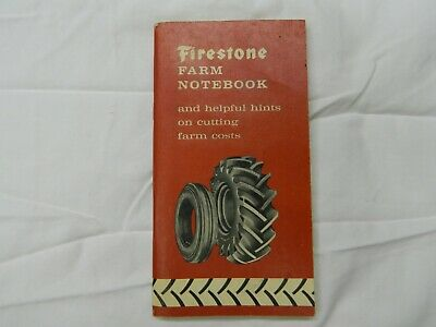 Vintage 1959 Firestone Farm Notebook And Helpful Hints On Cutting Farm Costs