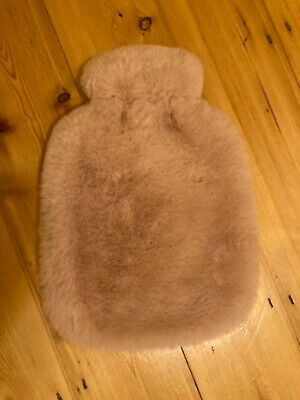 John Lewis pink faux fur Hot water bottle cover only