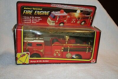 RARE 1987 New Bright Fire Engine/COPY MOLDED FROM 1970 HESS!!!
