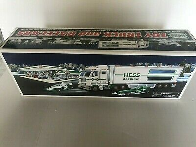 2003 Hess Toy Truck and Racecars