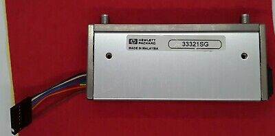 0 to 75 dB F HP // Agilent 33321SD DC to 4 GHz SMA Tested! Step Attenuator