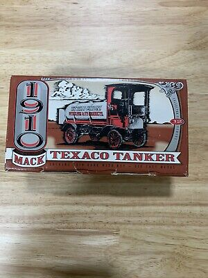 1910 Mack Texaco Tanker The Texas Company Petroleum and it's Products Coin Bank