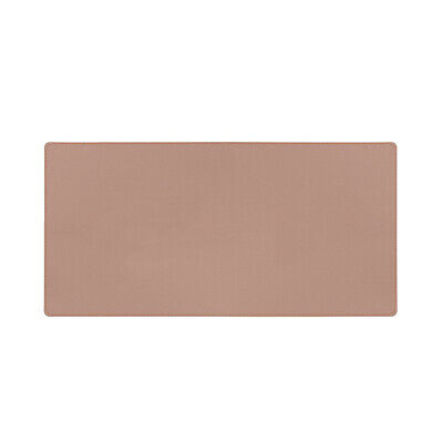 Double-Sided Mouse Pad Eco-friendly Cork PU Leather Desk Mat Waterproof E0M1