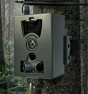 Iron Security Box Case for HC700A HC700M HC700G Hunting Game Trail Camera