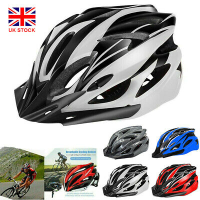 MTB Protective Safety Helmets Mountain Bike Bicycle Cycle Adult Road Cycling UK