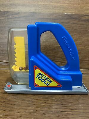 Jig Saw Action Tool Fisher Price Childrens Toy Jigsaw 7174 Vintage 1990