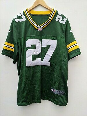 RETRO GREEN BAY Packers NFL Stitched Home Jersey Eddie Lacy #27 ...
