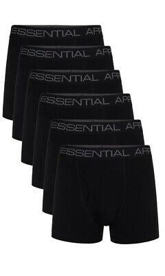Rip Curl Essential 2 Pack Underwear Boxer Shorts Black All Sizes