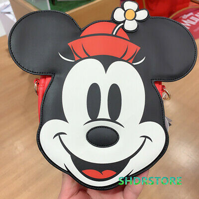 SHDR Disney Mickey Mouse hips crossbody Bag pouch Shanghai Disneyland exclusive