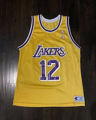 Vlade Divac Lakers Jersey FOR SALE! | PicClick