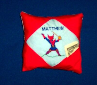 PERSONALIZED Tooth Fairy Pillow SUPERHERO!!