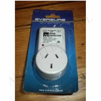 Cleanpower Surge Protector with Phone Filter - Part # MSPT-10