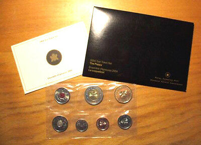2004 TEST SET WITH POPPY QUARTER - Only 10,000 Minted !!!!