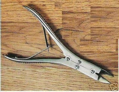 """RUSKIN BONE CUTTING FORCEPS Straight 6"""" Double Action"""