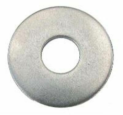 Stainless Steel Penny Washers - M5,M6,M8,M10 Mudguard, Repair Washers x60 Mixed