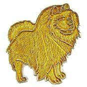 Chow Chow (red) dog breed LAPEL PIN