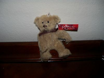 Russ Stuffed Plush Teddy Bears From the Past Galvin NWT