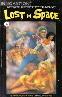 Lost In Space Comic Book #4, Innovation 1991 Near Mint