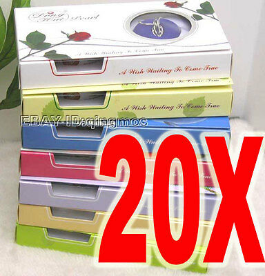 Christmas LOW Wholesale 20 box Wish Pearl Necklace Gift