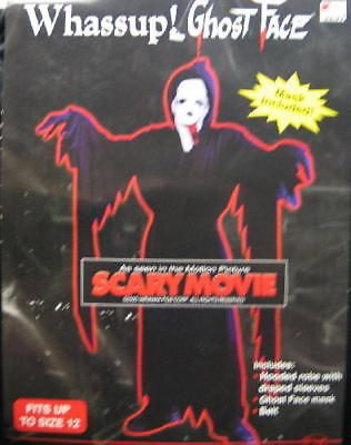 Scary Movie Ghost Face Halloween Costume, Up To Age 12