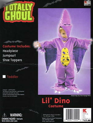 Toddler Lil' Dino Halloween Costume, NEW One Size