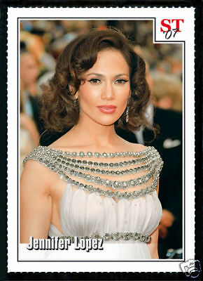 JENNIFER LOPEZ Academy Awards 07 Spotlight Tribute Card