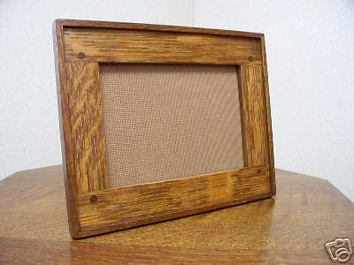 Arts & Crafts Style Photo/Picture Frame