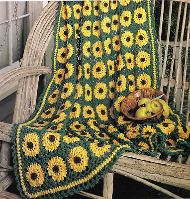 RARE/ BEAUTIFUL TREE of Life Afghan/Crochet Pattern INSTRUCTIONS