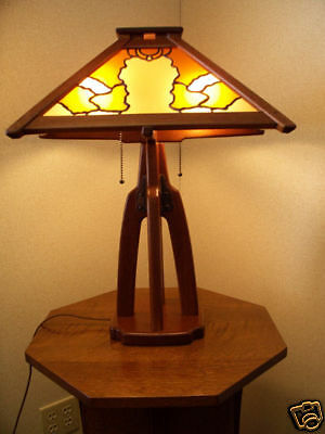 Greene & Greene Style Table Lamp/Arts & Crafts/Mission