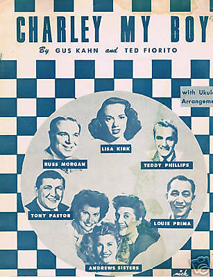 1949 - Andrews Sisters - Charley My Boy