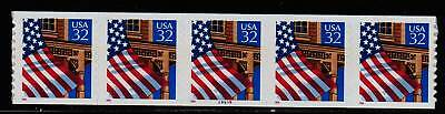 #2915A Flag over Porch PNC5  Pl #99999 - MNH