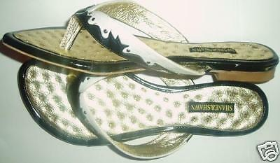 DETNY Ultra hot! thong sandal Sz6