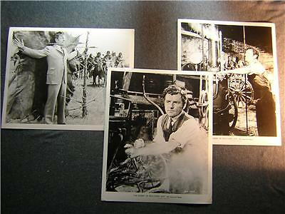 Orig 3 Photo Lot THE SHERIFF OF FRACTURED JAW 215E