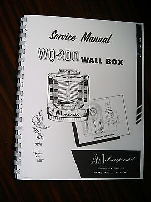 AMI Service & Parts Manual Wall Box Model WQ  200