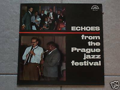 Echoes from the PRAGUE Jazz Festival / SUPRAPHON / 1965