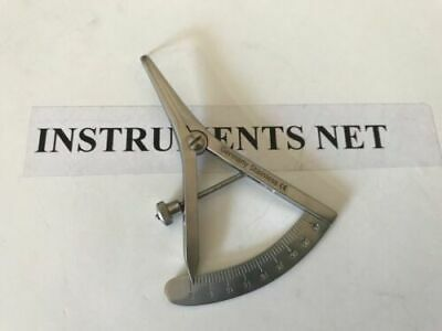 "Castroviejo Calipers Angled 3.5"" Dental Surgical Inst"