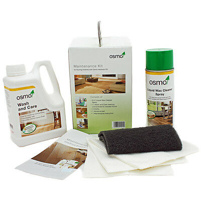 Osmo Care & Maintenance Kit for Oiled Floors.