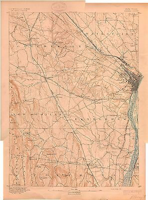 97 Vintage USGS Topo Maps of Central NEW YORK on CD
