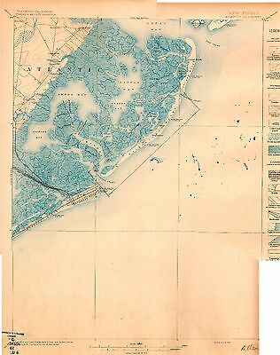82 Vintage USGS Topographic Maps of NEW JERSEY on CD