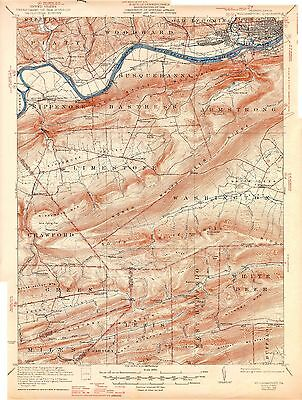 50 Vintage USGS Maps of NORTH CENTRAL PENNSYLVANIA CD