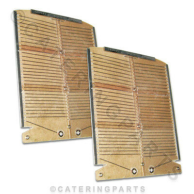 Set Of 2 Genuine Dualit Toaster Heating Elements For The Model 4 (Four) Bun Only