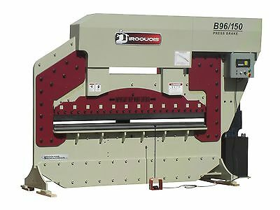"96"" Iroquois Hydraulic Press Brake, 150Ton, USA!"