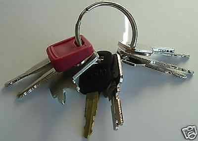!9 Keys - Heavy Construction Equipment Key Set - NEW!