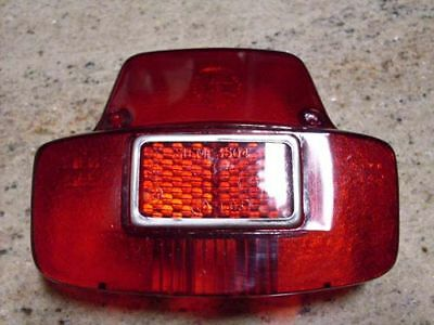 Vespa stop tail light taillight lens VBC VLB SUPER SPRINT Chetak Rally V8019